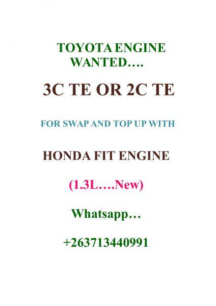 Honda fit engine for sale