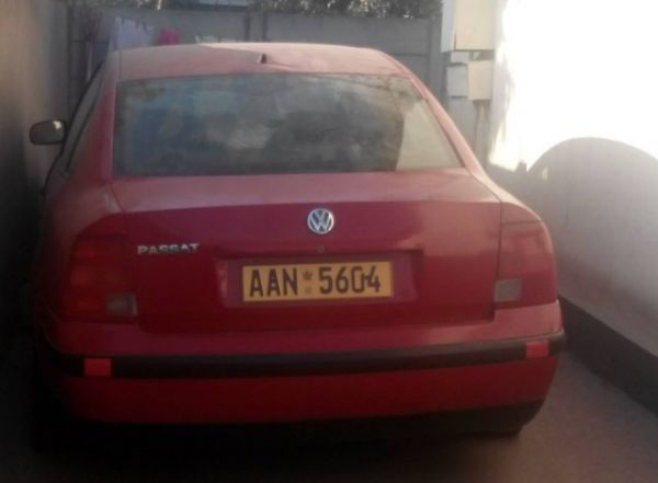 VW Passat body on wheels